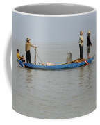 Life On Lake Tonle Sap 5 Coffee Mug