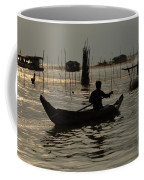 Life On Lake Tonle Sap 7 Coffee Mug