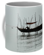 Life On Lake Tonle Sap  Coffee Mug