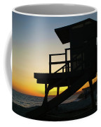 Lifeguard Silhouette Coffee Mug