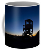 Lifeguard Stand At Dawn Coffee Mug