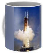 Liftoff Of The Saturn Ib Launch Vehicle Coffee Mug