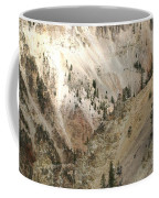 Light And Shadows In The Grand Canyon In Yellowstone Coffee Mug
