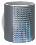 Light Blue And Gray Abstract Coffee Mug