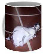 Light Bulb Smashing Coffee Mug