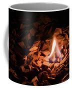 Light Of Fire Creates Coziness ... Coffee Mug