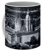 Light On The Cathedral Coffee Mug by Joan Carroll