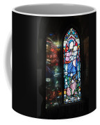 Light Reflecting Through The Window And Reflecting On A Wall Coffee Mug