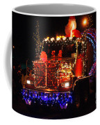 Lighted Cement Truck Coffee Mug