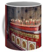 Lighted Incense Sticks Coffee Mug