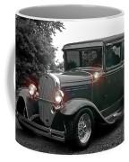 Lighted Old Black And White Coffee Mug