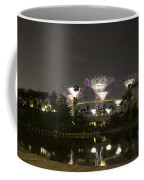 Lighted Supertrees Of The Gardens By The Bay In Singapore Coffee Mug