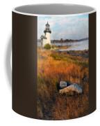 Lighthouse At Dawn Coffee Mug