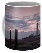 Lighthouse At Low Tide II Coffee Mug
