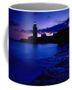 Lighthouse Beacon At Night Coffee Mug