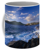 Lighthouse In The Distance, Fort Point Coffee Mug