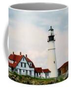 Lighthouse Maine Coffee Mug