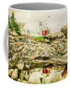 Lighthouse Reflections Coffee Mug by Darren Fisher
