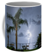 Lighting In The Backyard  Coffee Mug