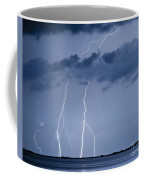Lightning On The Water Coffee Mug