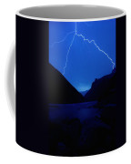 Lightning Strike, Grand Canyon Coffee Mug