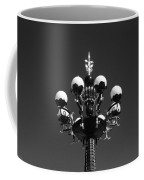 Lights In The Sky In Black And White Coffee Mug