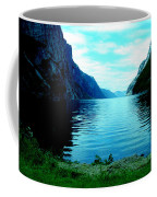 Ligth Fjord Norway Coffee Mug