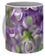 Lilac Syringa Sp Flower, Close Coffee Mug