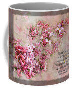 Lilacs With Verse Coffee Mug