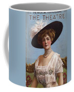 Lillian Russell On Cover Coffee Mug