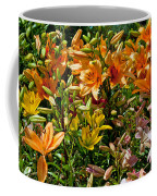 Lily Garden Bouquet  Coffee Mug