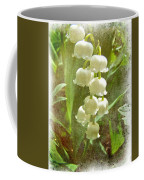 Lily Of The Valley - In White #2 Coffee Mug