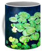 Lily Pads And Lotus Coffee Mug