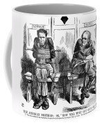 Lincoln Cartoon, 1864 Coffee Mug