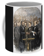 Lincoln Inauguration, 1865 Coffee Mug by Granger