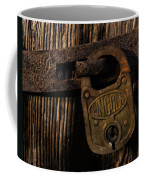 Lincoln Lock Coffee Mug
