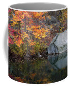 Lincoln Woods Autumn Boulders Coffee Mug