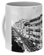 Lincolns Funeral Procession, 1865 Coffee Mug by Photo Researchers