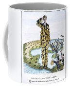 Lindbergh Cartoon Coffee Mug