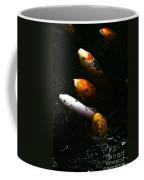 Line Dancing Koi Coffee Mug