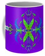 Linear Movement In Purple Coffee Mug