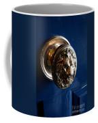 Lion Head Door Knob Coffee Mug