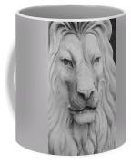 Lion In Stone Coffee Mug