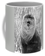Lion Tailed Macaque Coffee Mug