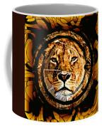 Lioness Face Coffee Mug