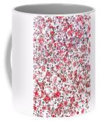 Lipstick And Eyeliner Abstract Coffee Mug