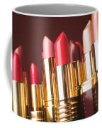 Lipstick Tubes Coffee Mug