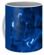 Liquid Blue Abstract Coffee Mug