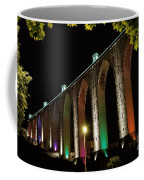 Lisbon Historic Aqueduct By Night Coffee Mug