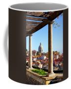 Lisbon View Coffee Mug by Carlos Caetano